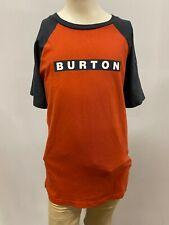"New Burton Kids ""Burton Square"" Short Sleeve T-Shirts Mult. Colors, XS-XL"