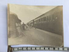 original  photo china railway station C1900