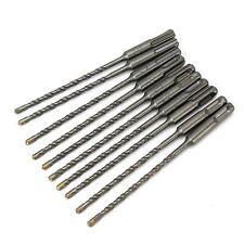 10 SDS PLUS 5MM x 160MM CROSSHEAD TUNGSTEN CARBIDE DRILL BITS. MASONRY CONCRETE