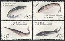 China 1994 pescado/Marina/Naturaleza/vida salvaje 4 V Set (n27651)