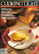 Cooking Light 1989 Desserts Bread Apples Canned Food