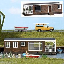 h0 modèle mondes bois véritable Kit 1:87 Busch 1458 arrêt de bus