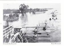 "*Postcard-""Standard Oil Seaplanes"" /Emergency Rescues/*Baton Rouge LA (A16)"