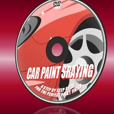 LEARN HOW TO DO PERFECT CAR SPRAYING DVD SIMPLE DIY RESPRAY & TOUCHUP NEW DVD