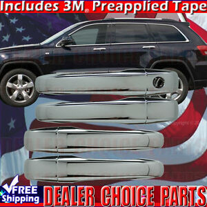 For 2005 2006 2007 2008 2009 2010 Chrysler 300 300C CHROME Door Handle COVERS
