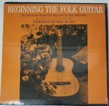 JERRY SILVERMAN Beginning The Folk Guitar LP Sealed New FS 8353