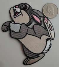 Thumper Rabbit from Disney's Bambi - Iron On Patch Applique - New, Rare, Pretty
