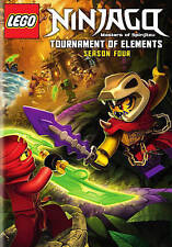 LEGO Ninjago: Masters of Spinjitzu - Season Four (DVD, 2015, 2-Disc Set) NEW