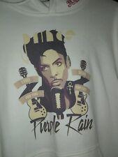 Prince Sweatshirt Hoodie Purple Rain Large White Supreme Rare!
