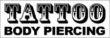 Tattoo Body Piercing Vinyl Banner Sign New 2x4 ft - wb