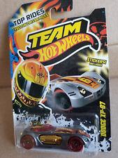 2011 Team Hot Wheels Yellow Driver Picks DODGE XP-07 Grey