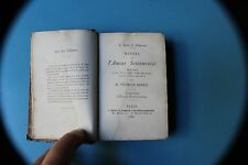 ANTICO LIBRO TASCABILE IN FRANCESE G.BARRAL MISSEL DE L'AMOUR SENTIMENTAL 1884
