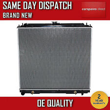 FOR NISSAN NAVARA D40 2.5 DCI AUTOMATIC / MANUAL RADIATOR 2004>2015 21460EB30A