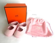 100% Authentic HERMES Baby Shoes 65% Wool 35% Angora Made In France With Box