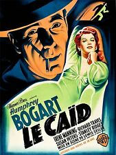 ART PRINT POSTER MOVIE FILM BIG SHOT FRENCH RELEASE BOGART MANNING USA NOFL0718
