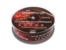 25 MediaRange Rohlinge Cake25 CD-R 900MB 100min