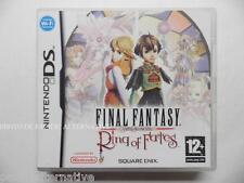 jeu FINAL FANTASY crystal chronicles RING OF FATES sur nintendo DS en francais