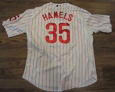 MAJESTIC Philadelphia Phillies COLE HAMELS Baseball Jersey, SEWN, Size 54 (XL)