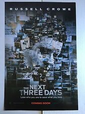 The Next Three Days 13 x 20 Movie Poster, Crowe, Banks