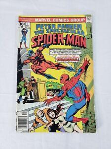 Vintage Marvel Comic Book - Peter Parker, The Spectacular Spider-Man (#1)
