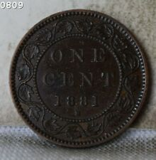"1881-H Canada large Cent ""XF+"" *Free S/H After 1st Item*"