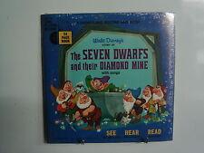 WALT DISNEY Seven Dwarfs Diamond Mine w/BOOK  45 SEALED 314