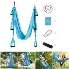Fitness Übungen Hänge-Matte Yoga Pilates Swing Schaukel Tuch Inversion Trapeze