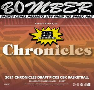 Orlando Magic 2021-22 Panini Chronicles Draft Picks Basketball 4-Box Break 1