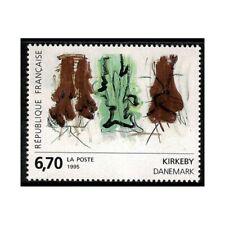 1995 France Art - Œuvres D'Art - Kirkeby 1 V. MNH MF66737
