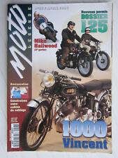 MOTO LEGENDE N°57 /Dossier 125/VINCENT 1000/M. HAILWOOD/VELOCETTE/HONDA GOLDWING