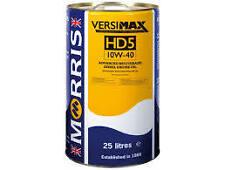 Morris Versimax HD5 10W-40 (Ring Free XHDS 10W40) Bulk Buy Semi Synth Oil 25L