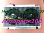 "Aluminum radiator + two 12"" Fans for Toyota Cressida MX83 1989-1993 manual only"