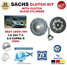 FOR SEAT LEON 1.8 20V T 4 2.8 Cupra R 1999> SACHS CLUTCH KIT with SLAVE CYLINDER