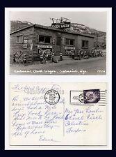 WYOMING CENTENNIAL CHUCK WAGON COCA COLA SIGNS 16 SEPT 1960 TO PALESTINE, TEXAS