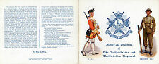 Military Art Bedfordshire Regiment History & Traditions 4910-r Large Format