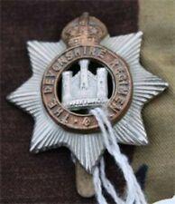 cap badge britannique Original du régiment Devonshire   2 ww ,DDAY