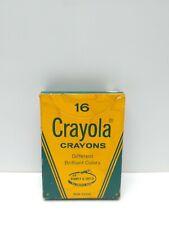 Vintage No. 16 Crayola Crayons Binney & Smith
