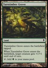 MTG Magic - (C) Zendikar - Turntimber Grove - SP