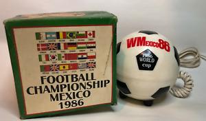World Cup 1986 Mexico Mexiphone Original NOS Fan Memorabilia Merchandise Phone