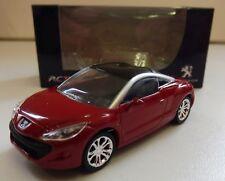 """Peugeot 308 RCZ Rouge 1/64 """"3 Inche"""" Diecast NOREV Produit NEUF !!"""