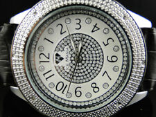 Mens New Ice Mania JoJo Joe Rodeo 50 MM Iced Real Diamond Watch IM3031