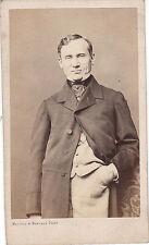 Photo cdv : Bayard et Bertall ; François-Joseph Regnier , comédien , vers 1865