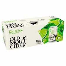 Old Mout Passion Kiwi And Lime Cider Cans 10 x 330ml GIFT NEW