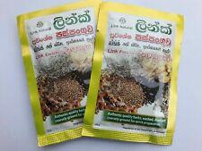 Paspanguwa LINK Natural Herbal Drink for Fever Headache Flu 25g x 100