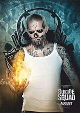Suicide Squad Film Posters  - Diablo - Option 1 - A3 & A4