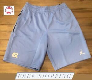 Nike Air Jordan UNC Tar Heel Spotlight Shorts Valor Blue AT6597-448 Men's Sz L