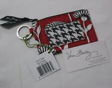 Vera Bradley DECO DAISY Zip ID Coin KEY RING Case 4 Purse BACKPACK Lanyard  NWT