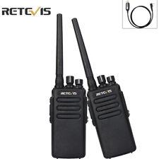 DMR Retevis RT81 Walkie Talkie UHF Digital Portable Long Range Ham Radio(2PCS)