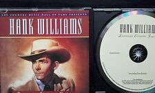"HANK WILLIAMS ""LEGENDARY COUNTRY SINGERS"" CD TIME LIFE 25 Greatest Hits 2002 VGC"