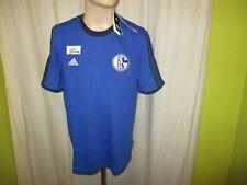 FC Schalke 04 Original Adidas Freizeit T-Shirt 2014/15 Gr.M Neu